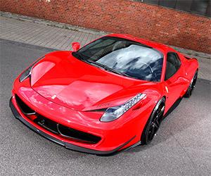 MEC Design Mods the Ferrari 458 Italia Spider