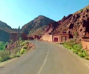 A Time-Lapse Drive Through Morocco