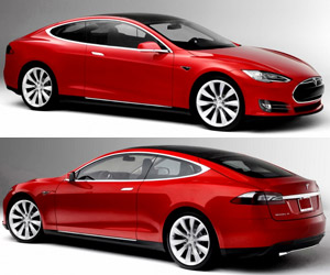 NCE Two-Door Tesla Model S and Convertible