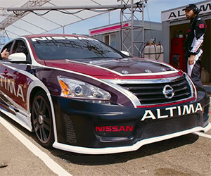 Would You Believe a Nissan Altima is a Race Car?