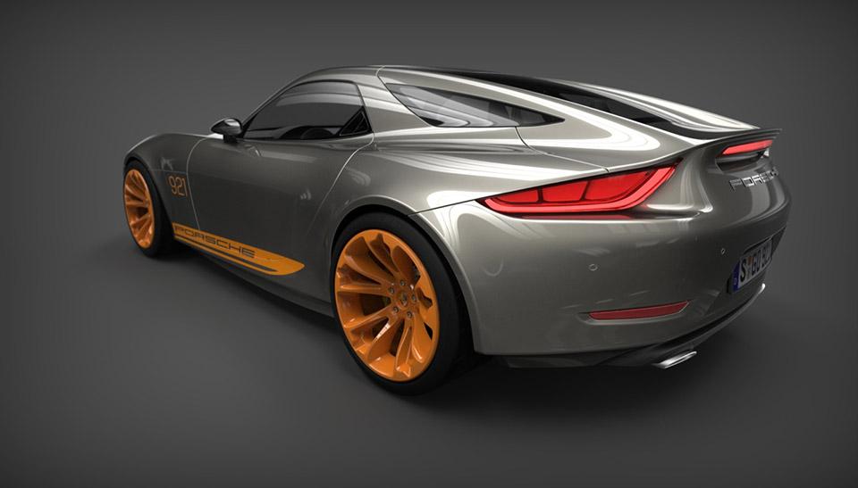 Porsche 921 Vision Design Concept - 95 Octane