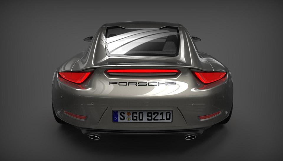 Porsche 921 Vision Design Concept 95 Octane