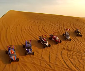 Sand Dune Buggy Racing in Dubai