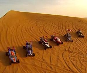 Sand Dune Buggy Racing in Dubai