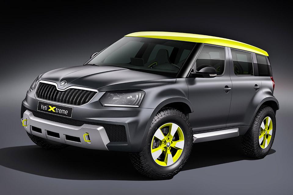 Škoda Sending Yeti Xtreme Concept to Wörthersee