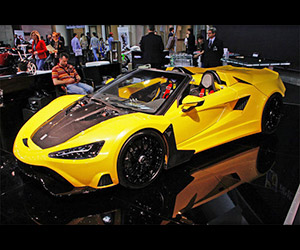 Tushek TS 600 Supercar Shown in Monaco