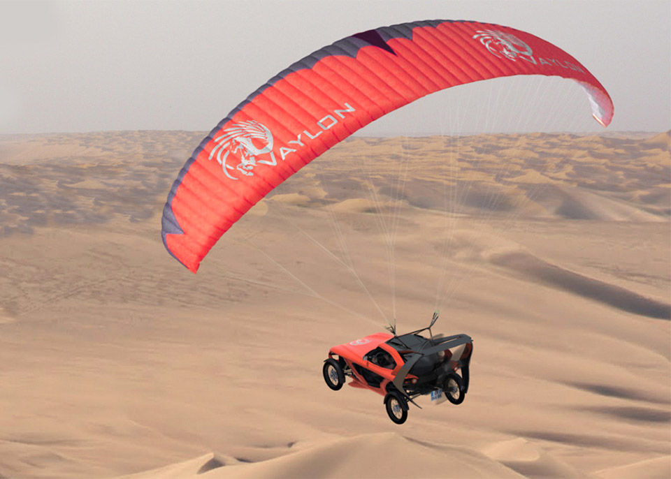 2016 Vaylon Pegase: The Flying ATV