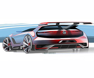 VW Shows More GTI Vision Gran Turismo Concept