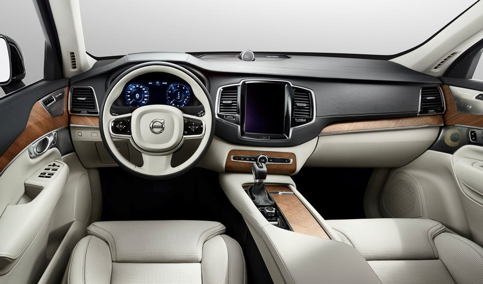 Volvo Unveils Beautiful, All-New XC90 Interior