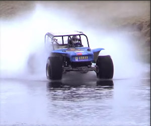 A Record-Setting Drive Across Water