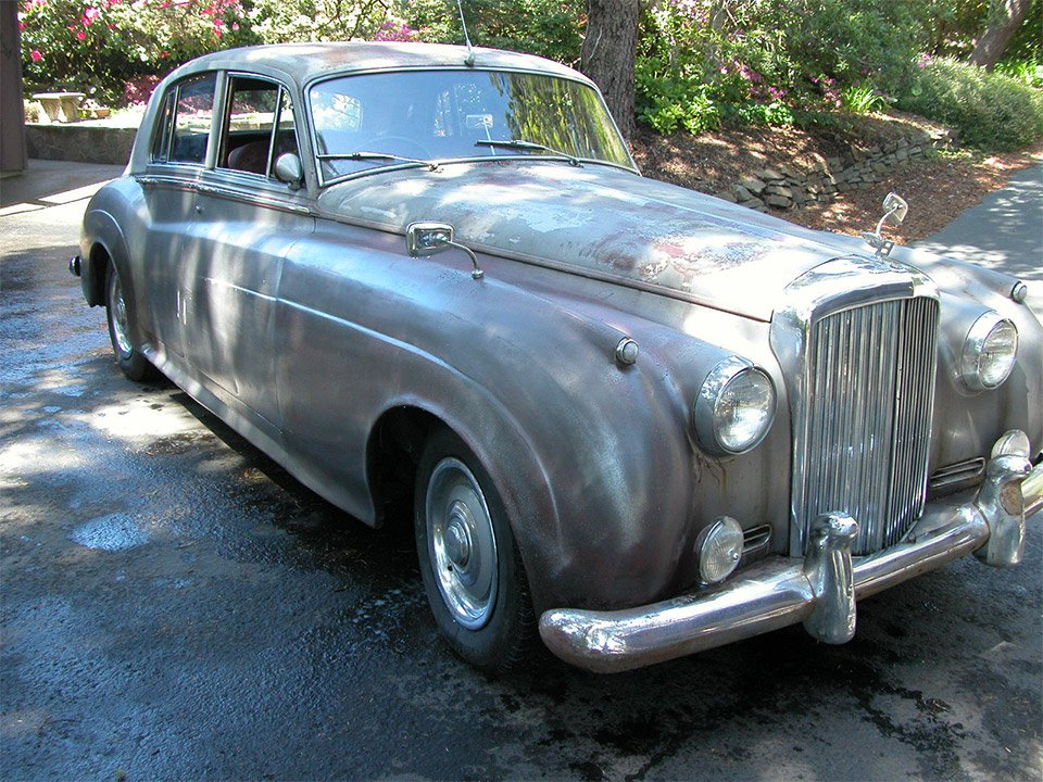 Barn Find: 1956 Bentley S1 Saloon