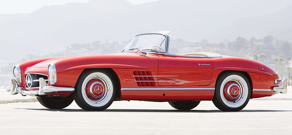1960 Mercedes-Benz 300SL Roadster Heads to Auction