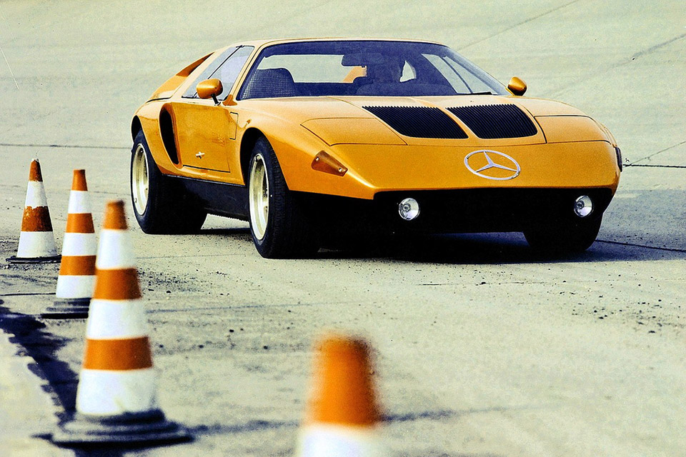 Concepts from Future Past: 1970 Mercedes-Benz C111
