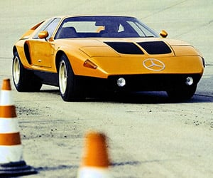 Concepts of Future Past: 1970 Mercedes-Benz C111