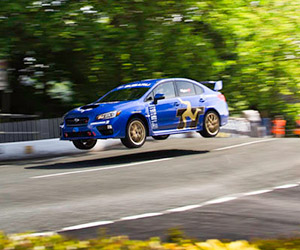 2015 Subaru WRX STI Sets Isle of Man Lap Record