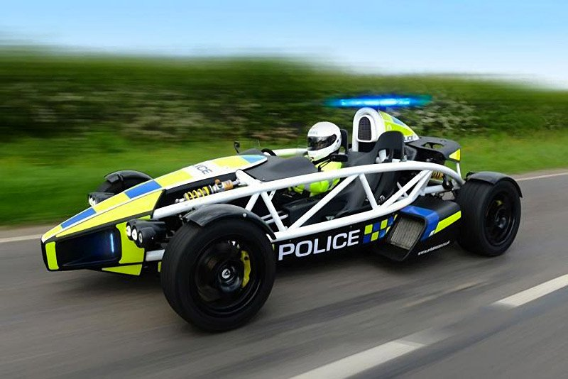 Ariel Atom Police Car: Do You Feel Lucky, Punk?