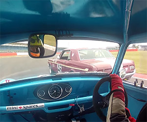 Racing with Endaf Owens in His Mark 1 MINI