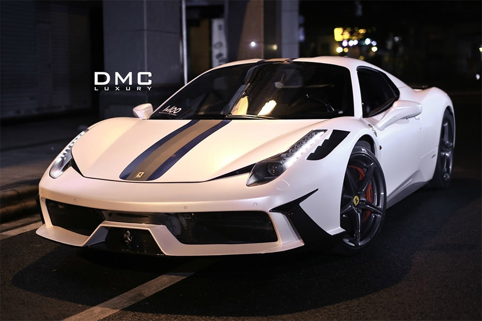 DMC Tuning Ferrari 458 Italia Monte Carlo Carbon