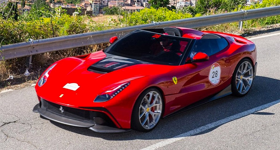 One-off Ferrari F12 TRS Valued at over $4 million
