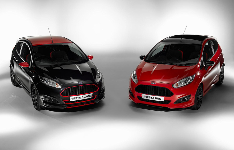 Ford Fiesta Red & Black Editions