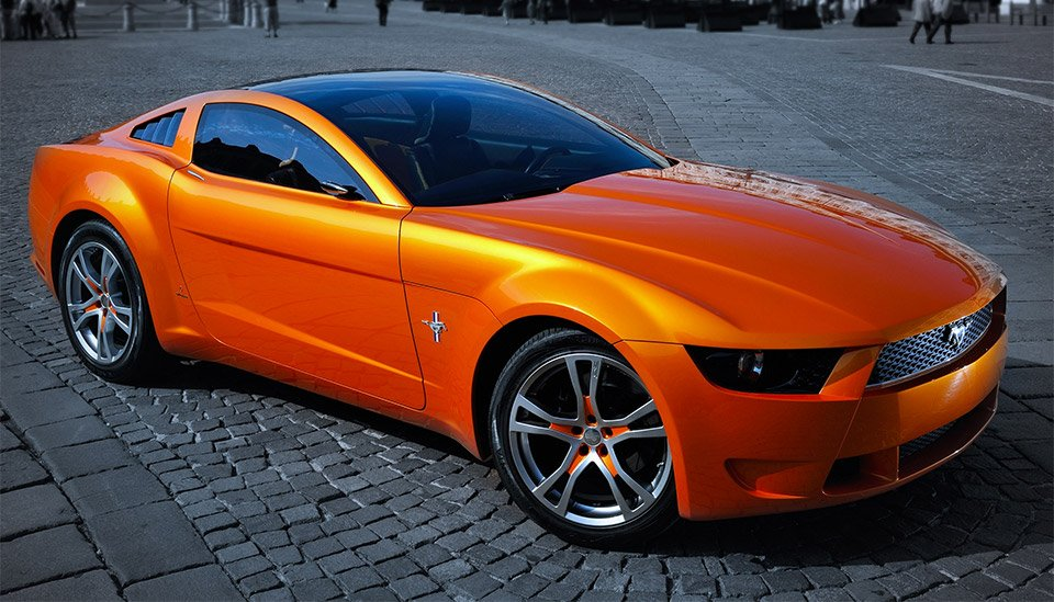 Concepts from Future Past: Giugiaro Concept Mustang