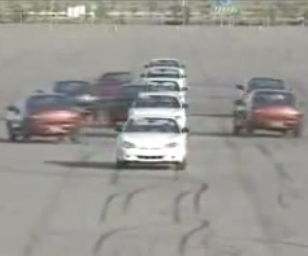 Hyundai Once Had a Synchronized Driving Team