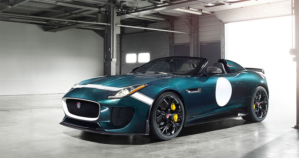 Jaguar F-Type Project 7 Going into Production