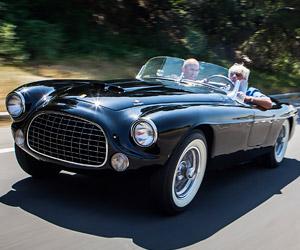 Jay Leno Looks at the 1952 Ferrari Barchetta