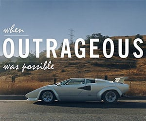 When Outrageous Was Possible: Countach