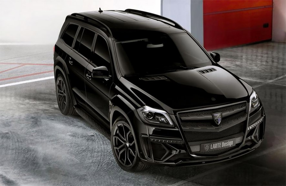 Mercedes GL Black Crystal Edition