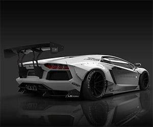 Liberty Walk LB Works Lamborghini Aventador