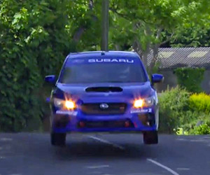 Subaru Shares Footage from Isle of Man Record Lap