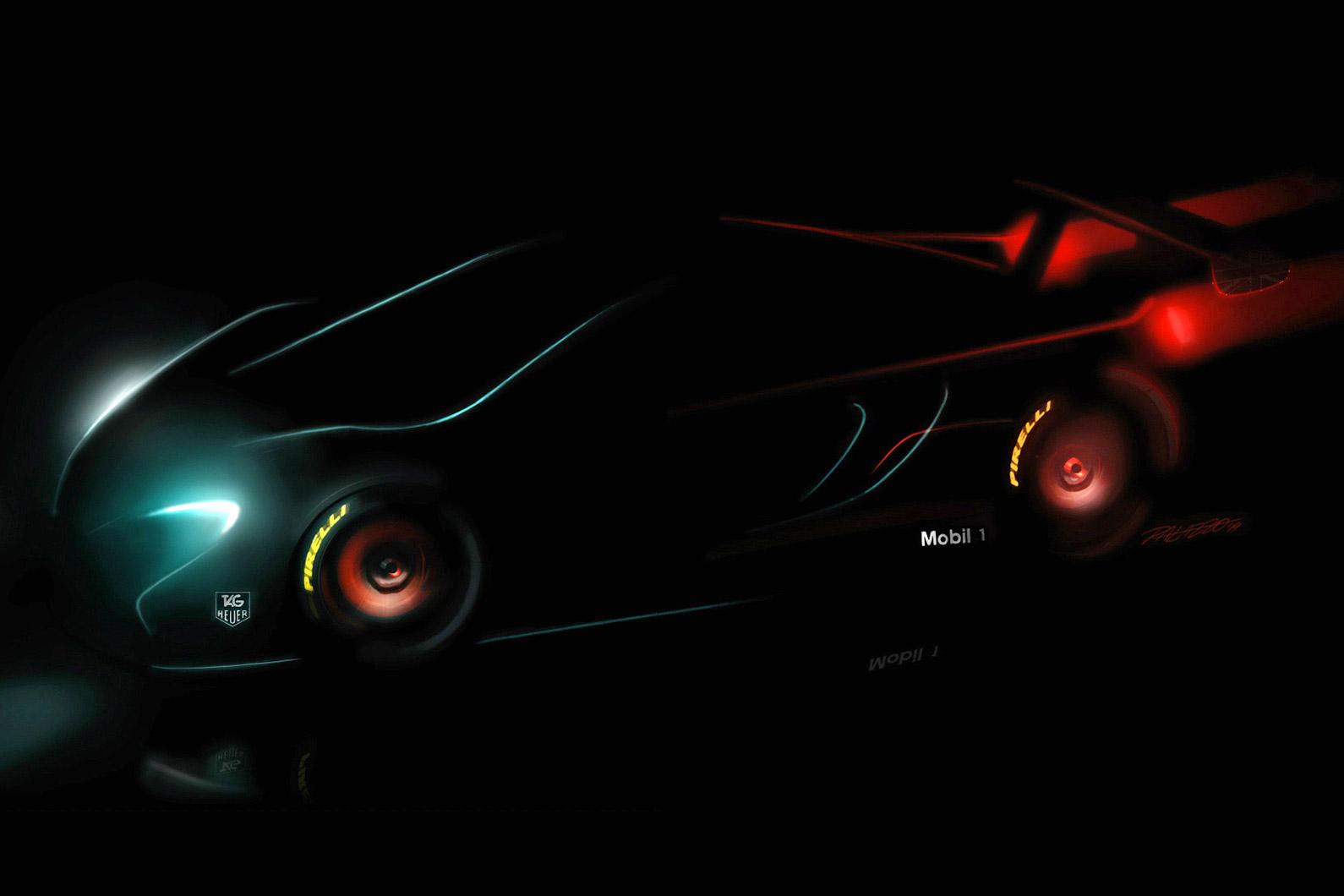 McLaren Teases Track-Focused GT Racer
