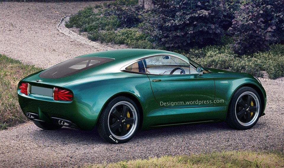 MINI Superleggera Vision Coupe Rendered