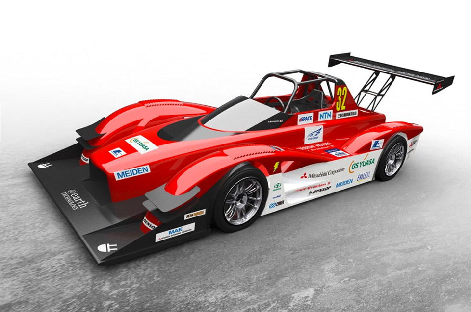 Mitsubishi to Take on Pikes Peak in 603HP EV