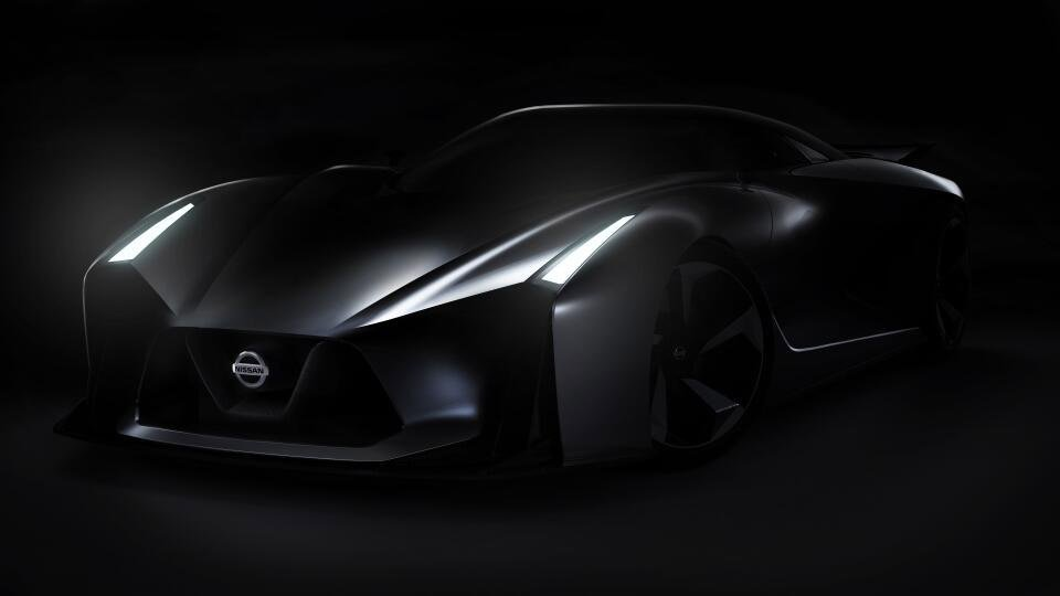 Nissan Gran Turismo Vision Concept Teased