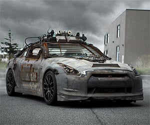 The 140-Year-Old Nissan GT-R from Elysium