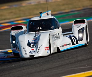 Nissan Completes First All-Electric Lap of Le Mans