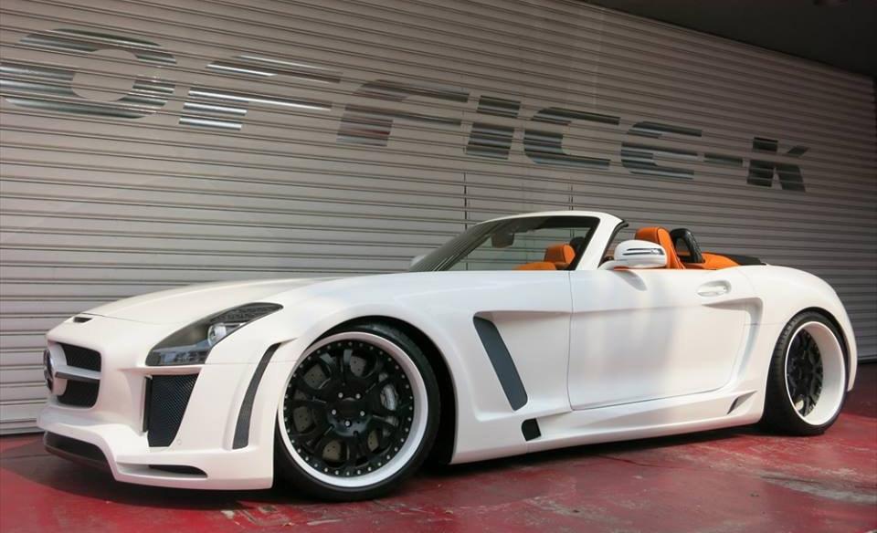 "Office-K/FAB Design Mercedes SLS ""Jetstream"""