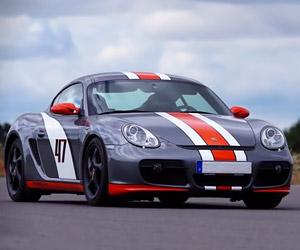Gymkhana 47: Drifting in a Porsche Cayman S
