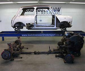 Project Binky: Building a Speedy 4WD Austin MINI