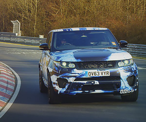 Range Rover Sport SVR Teased at Nürburgring