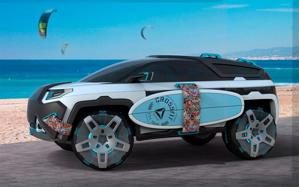 Reebok Drive Fit Concept