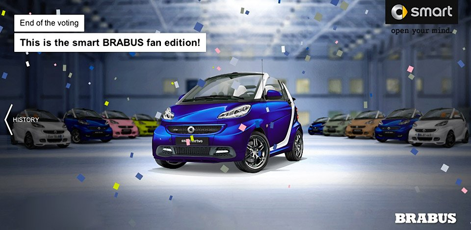 Smart Chooses Winner of the Brabus Fortwo Design Challenge