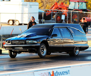 The World's Fastest Hearse