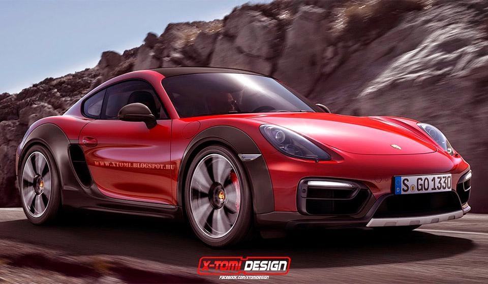 Porsche Cayman Safari Concept