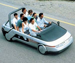 Concepts from Future Past: 1986 Italdesign Machimoto