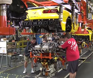 Inside the Corvette Assembly Plant