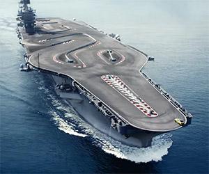 BMW Hoons an M4 on the Deck of an Aircraft Carrier