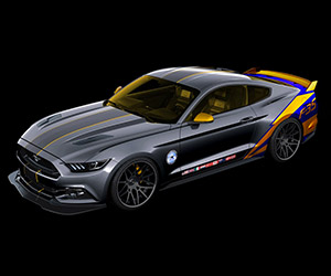 2015 Ford Mustang F-35 Going to Charity Auction